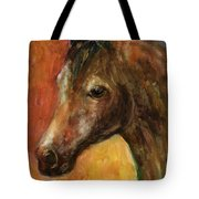 Equine Horse Painting  Tote Bag