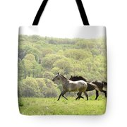 Equines For Freedom Tote Bag