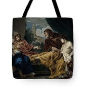 Erasistratus, Ancient Greek Physician Tote Bag