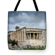 Erechtheion - Porch Of The Maidens Tote Bag