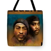 Eric B. And Rakim Tote Bag by Dwayne Glapion