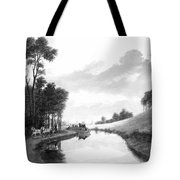 Erie Canal, 1837 Tote Bag