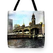 Erie Lakawanna Ferry And Train Station Tote Bag