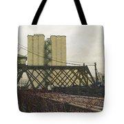 Erie Street Swing Bridge Tote Bag