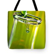 Erlenmeyer Flask In Science Research Lab Tote Bag
