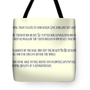 Ernesto Che Guevara Speaking 3 Tote Bag
