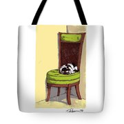 Ernie And Green Chair Tote Bag
