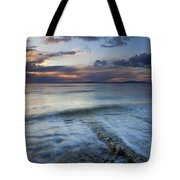 Eroded By The Tides Tote Bag