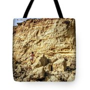 Eroding Graffiti Cliff 2 Tote Bag