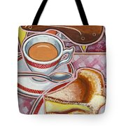 Eroica Britannia And Bakewell Pudding On Pink Tote Bag