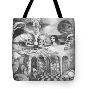 Eros Thanatos II Tote Bag