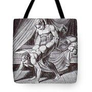 Erotic Drawing Six Tote Bag