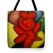Erotic Embrace Tote Bag