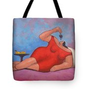 Erotic Grapes Tote Bag