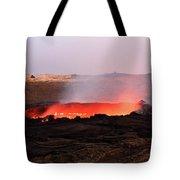 Erta Ale Volcano Tote Bag