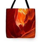 Erupting Flames Tote Bag