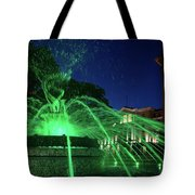 Eruption Of Green Waters, Sofia Tote Bag