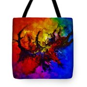 Eruptive Force Tote Bag