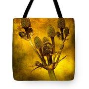 Eryngium Gold Tote Bag