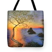 Es Vedra Island Off Ibiza South Coast Tote Bag