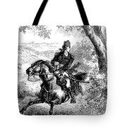 Escape Of Benedict Arnold Tote Bag