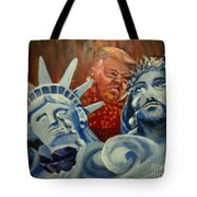 Escape On Tears Of Love And Liberty Tote Bag by Saundra Johnson