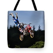 Escaping Motorbike Tote Bag