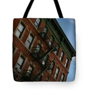 Escaping The Angles Tote Bag