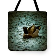 Escaping The Rain Tote Bag