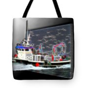 Escaping The Seagulls Tote Bag