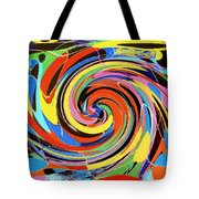 Escaping The Vortex Tote Bag