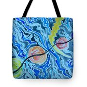 Esoteric Mind Energy Converging  Tote Bag