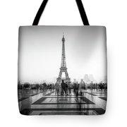 Esplanade Du Trocadero Tote Bag
