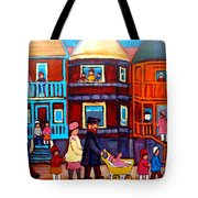 Esplanade Street Sabbath Walk Tote Bag