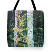 Essence Of Pale Bark Tote Bag