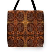 Essence Of Rust - Tiled Tote Bag
