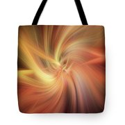 Essential Vibrations Of Light Tote Bag