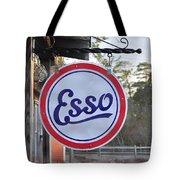 Esso Sign  Tote Bag