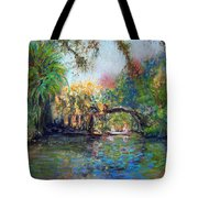 Estero River At Koreshan Tote Bag