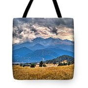 Estes Park From Glen Haven 3 Tote Bag