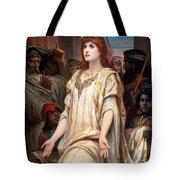 Esther Before Ahasuerus Tote Bag