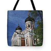 Estonia Church  Tote Bag