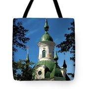 Estonian Church Orthodox And Baroque Tote Bag