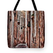 Etched In Stone Tote Bag