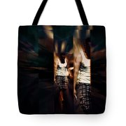 Ethereal Abstract Tote Bag