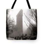 Ethereal Flat Iron Tote Bag