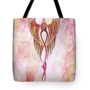 Ethereal Flight Contemporary Minimalism Tote Bag