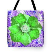 Ethereal Purple Poppy Too Tote Bag