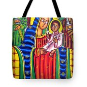 Ethiopian Mary And Jesus Tote Bag