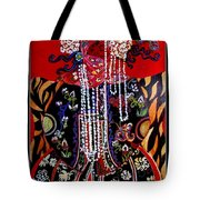 Ethnic Woman Tote Bag